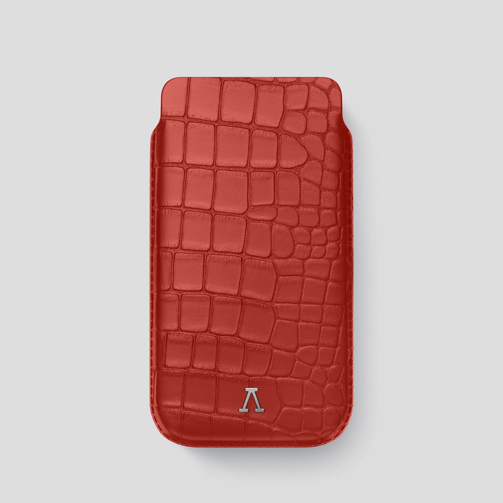 iPhone 12 Pro Pouch Case Alligator