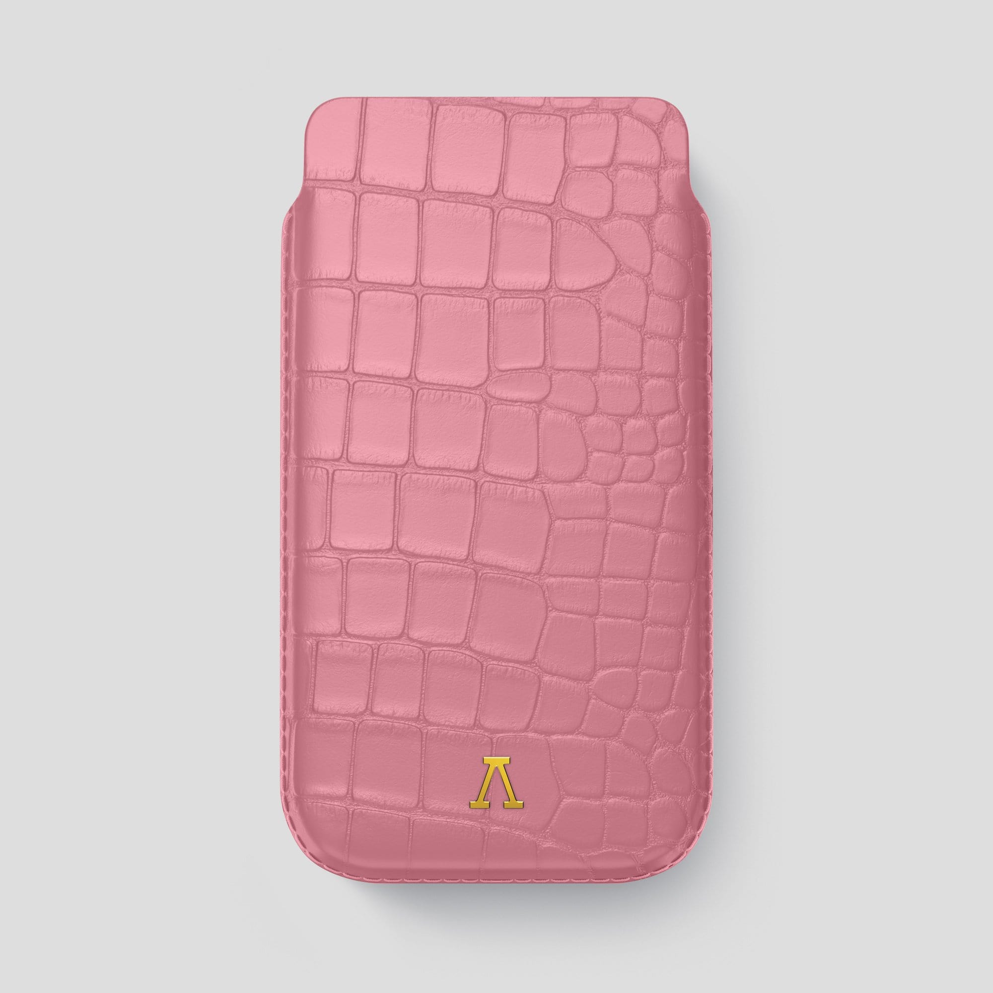 iPhone 12 Pro Max Pouch Case Alligator
