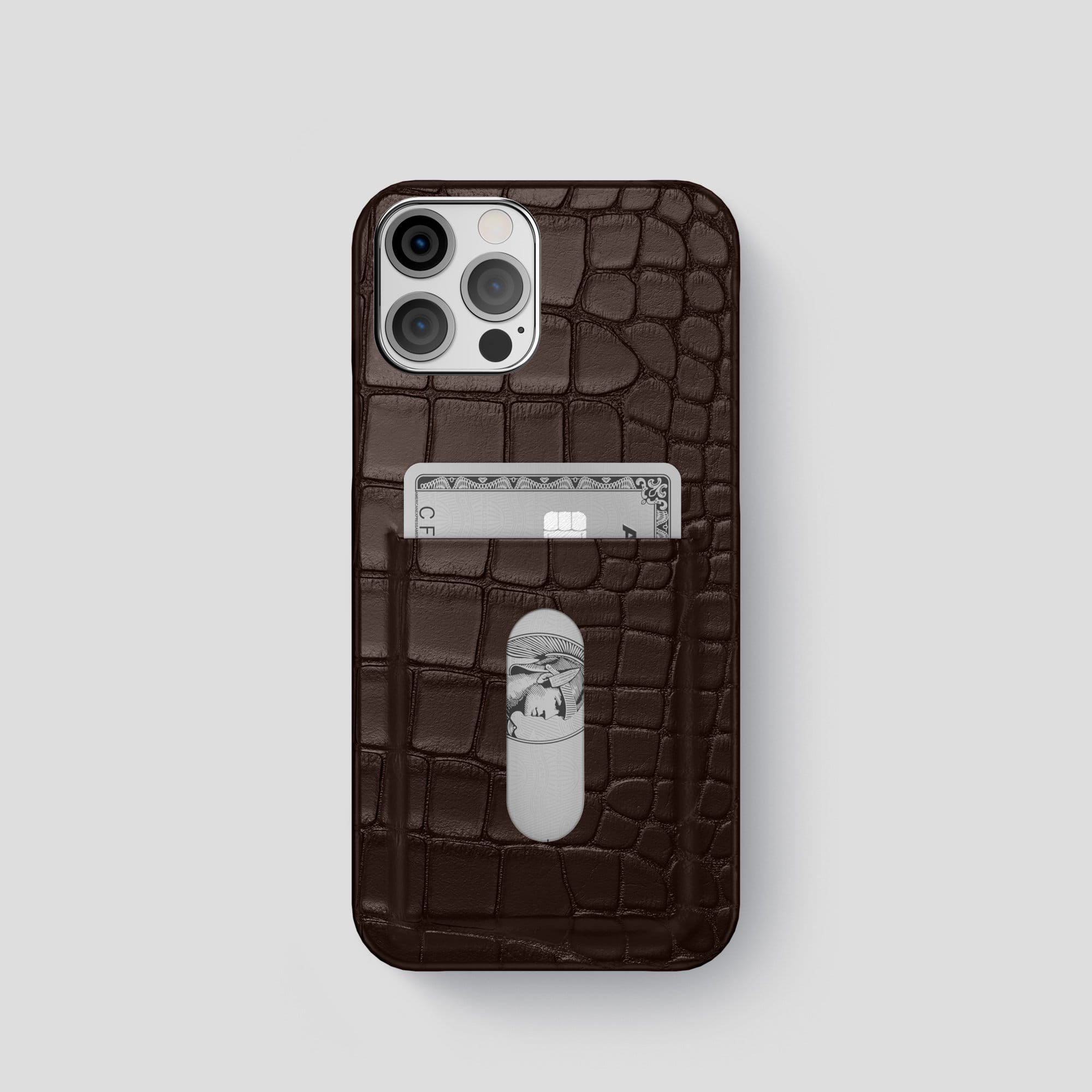iPhone 12 Pro Card Case Alligator