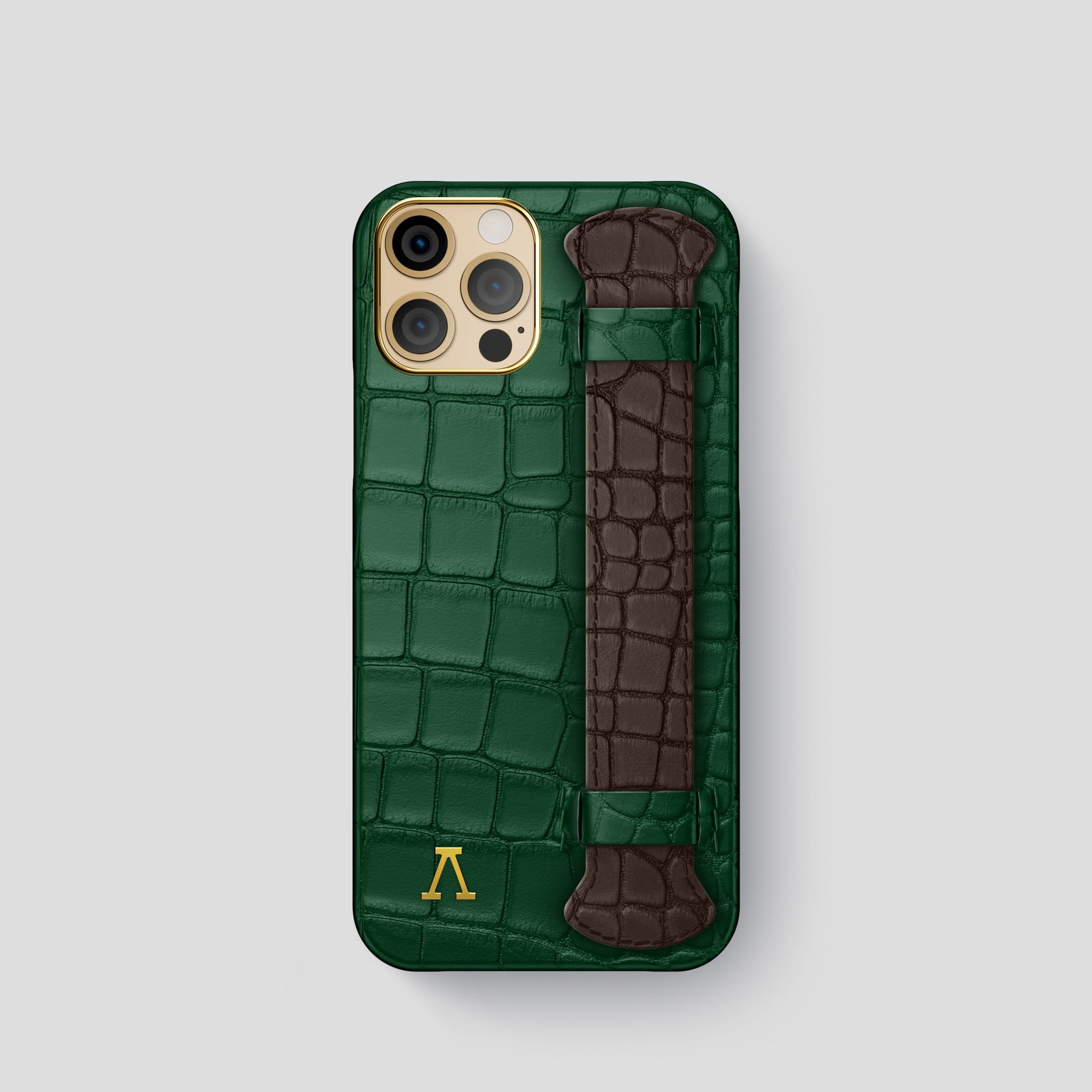 iPhone 12 Pro Strap Case Coloré Alligator