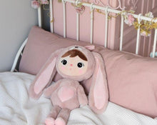 Load image into Gallery viewer, bunny doll on bed