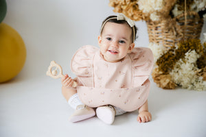 Posy Snuggle Bib Waterproof