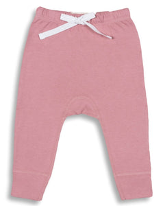 Pink heart pants from front