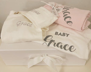 personalised gift set  printed with Grace
