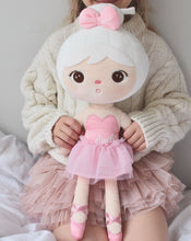 Load image into Gallery viewer, Little girl holding metoo Ballerina  doll