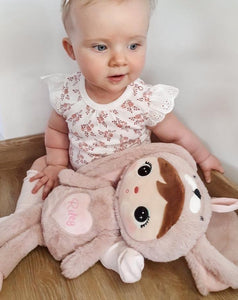 Powder Pink Bunny Doll