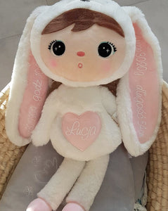 White Bunny Doll