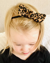 Load image into Gallery viewer, UL & KA Panther Baby Knot Headband
