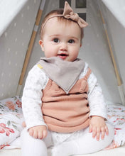 Load image into Gallery viewer, UL & KA Beige Baby Knot Headband
