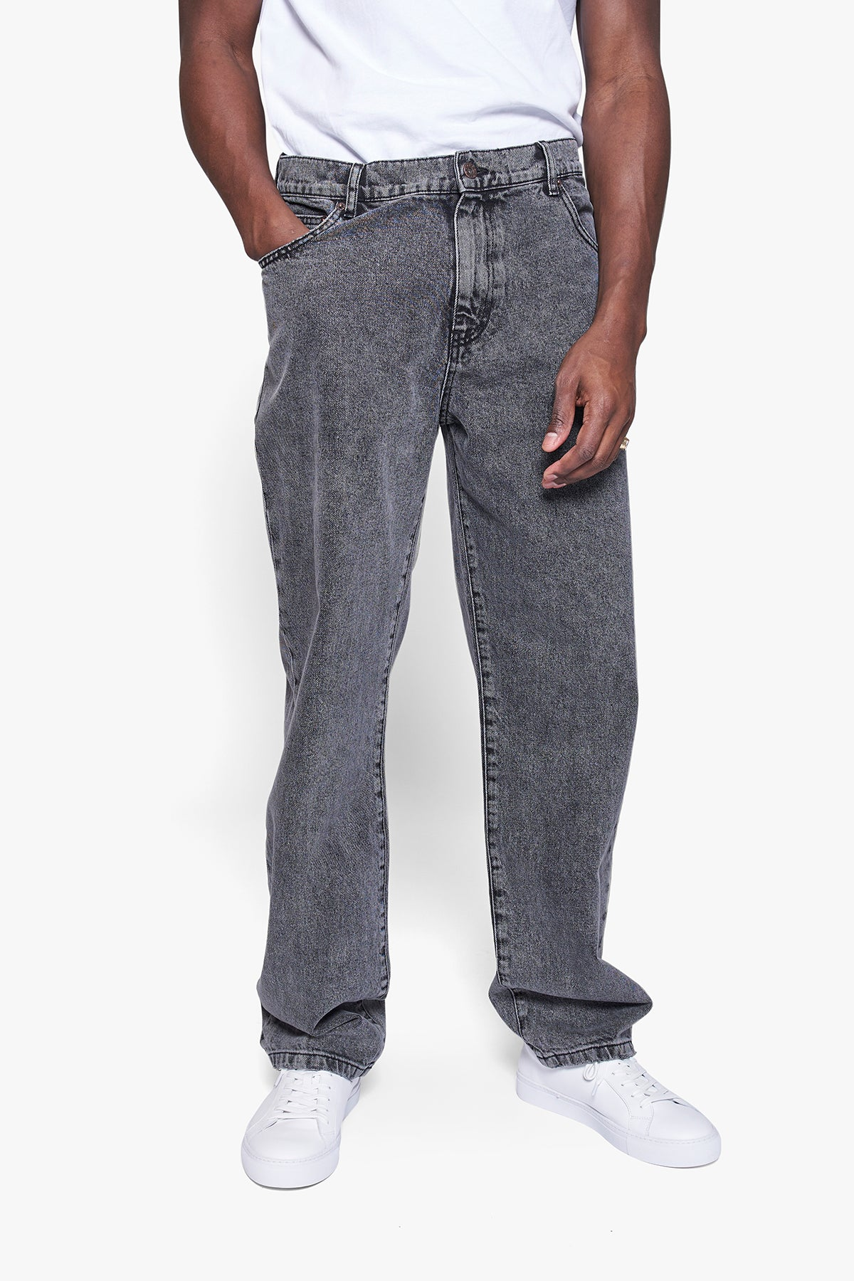 Leroy Thun Black Jeans - Dark Grey