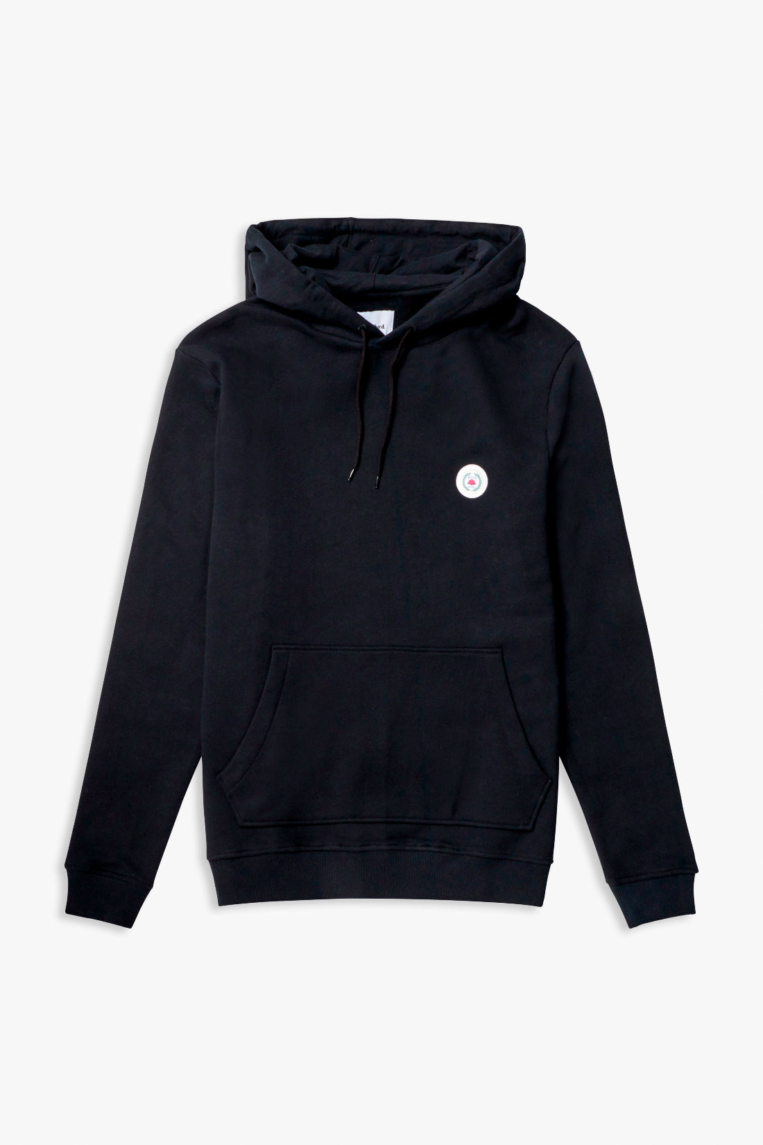 Our Shaxy Patch Hood - Black