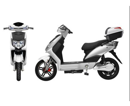 Ss-cb Electric Delivery Motorcycle With Peddles 20mph 500w Motor