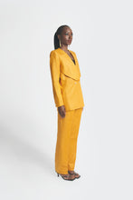 Load image into Gallery viewer, Yellow oversized womens pantsuit by Emmy Kasbit