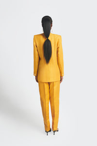 Ex-Lapel Suit - Yellow
