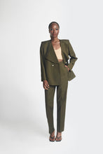 Load image into Gallery viewer, Army green oversized womens suit by Emmy Kasbit