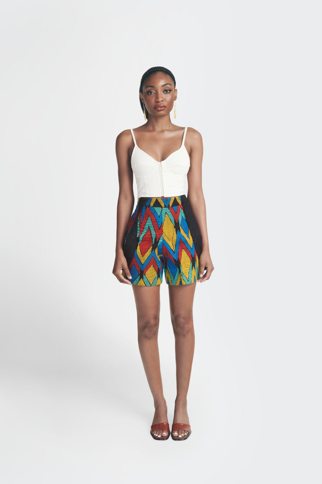 Akwete Shorts - Multicolor