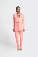 Load image into Gallery viewer, Peach oversized womens suit by Emmy Kasbit