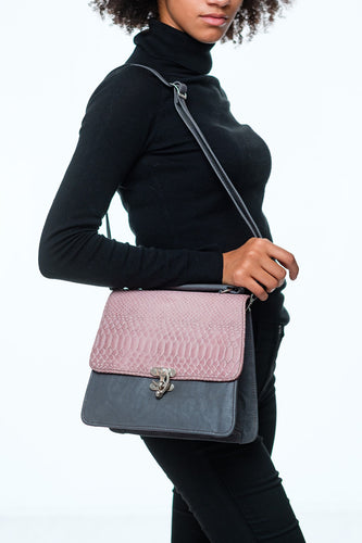 structured leather bag by Didi Isah