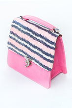 Load image into Gallery viewer, structured leather bag by Didi Isah in pink