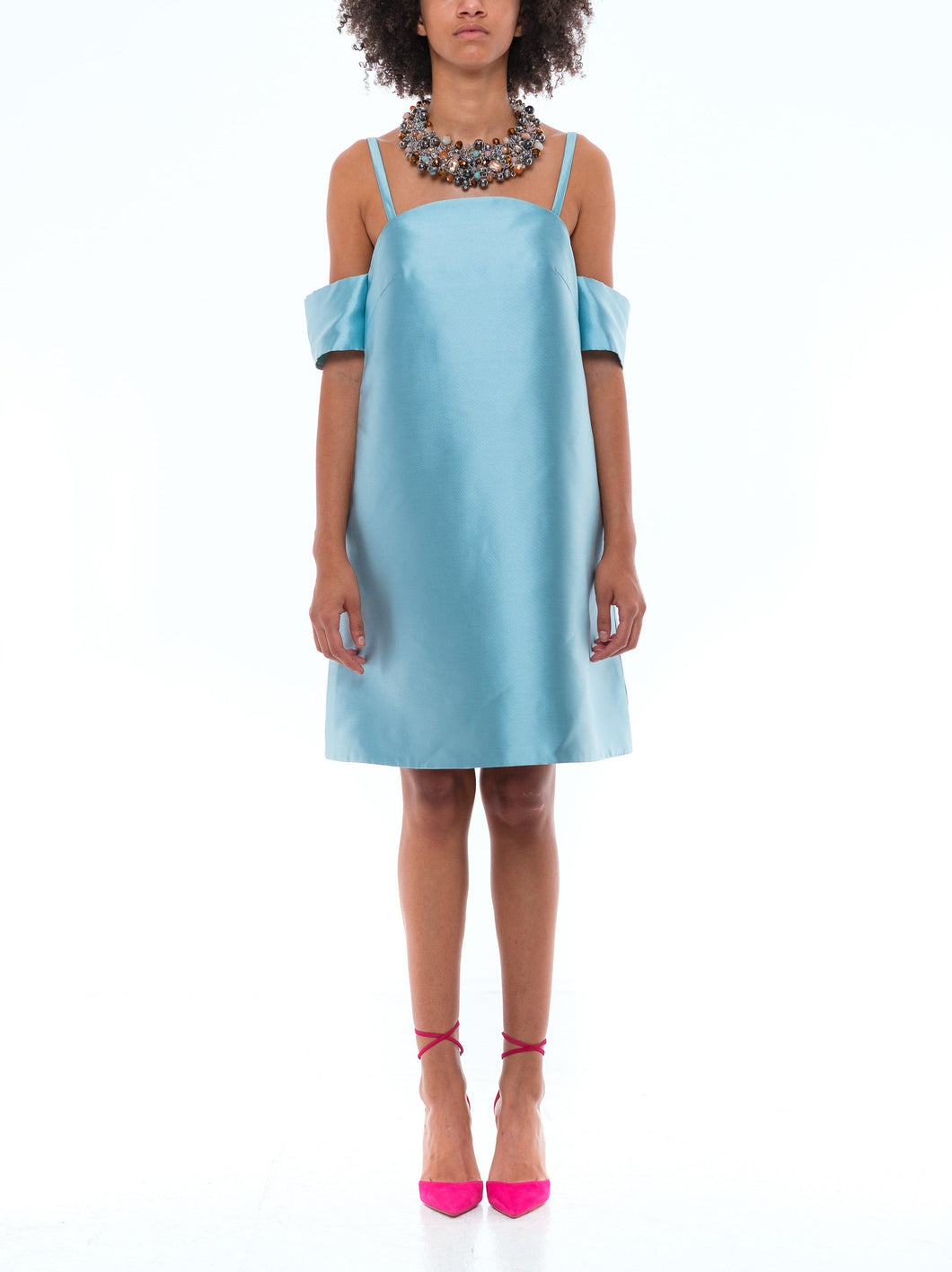 Nona Dress - Sky Blue