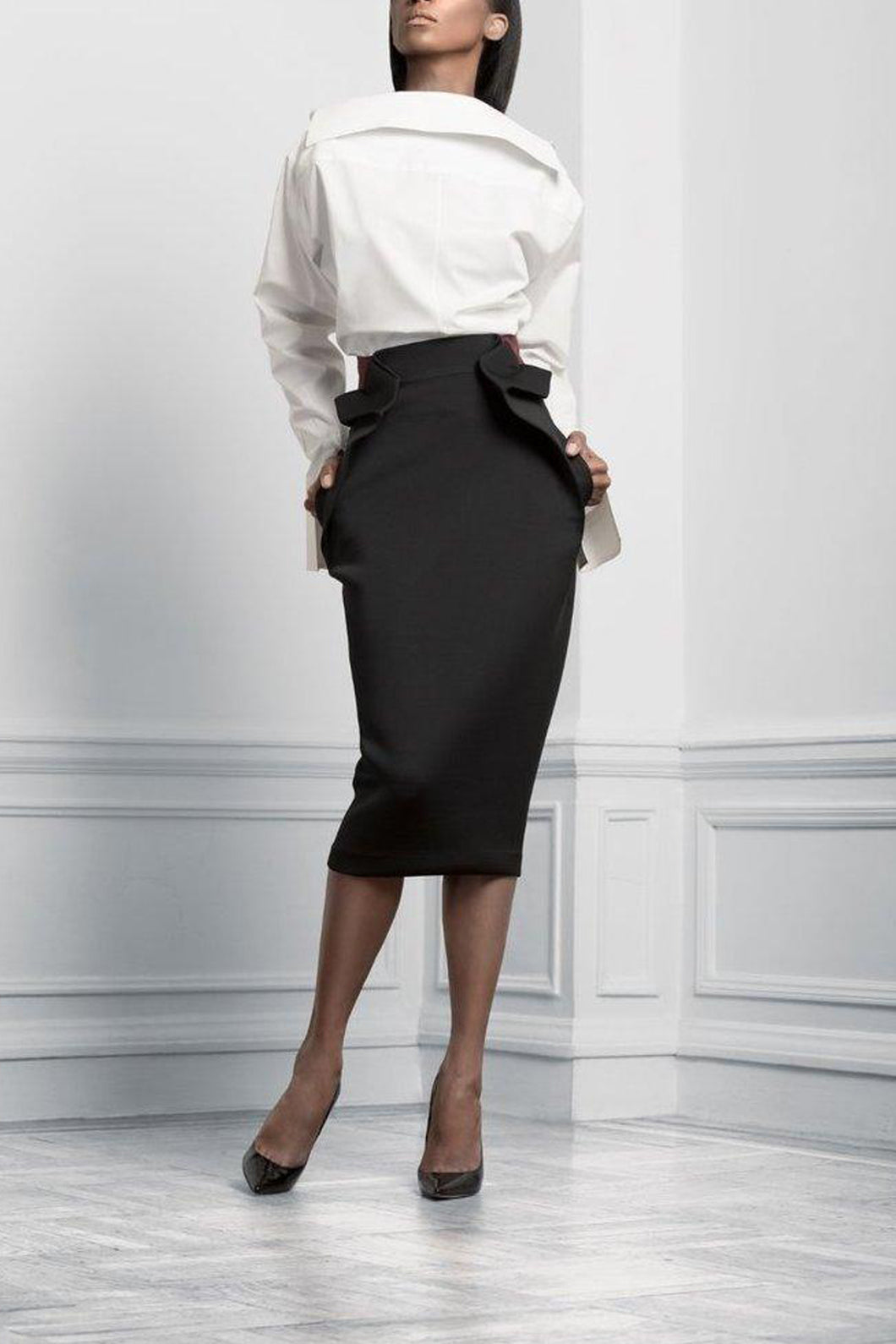Statement structured skirt by Sukeina