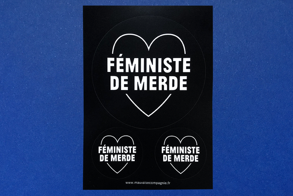 sticker antisexiste mauvaise compagnie