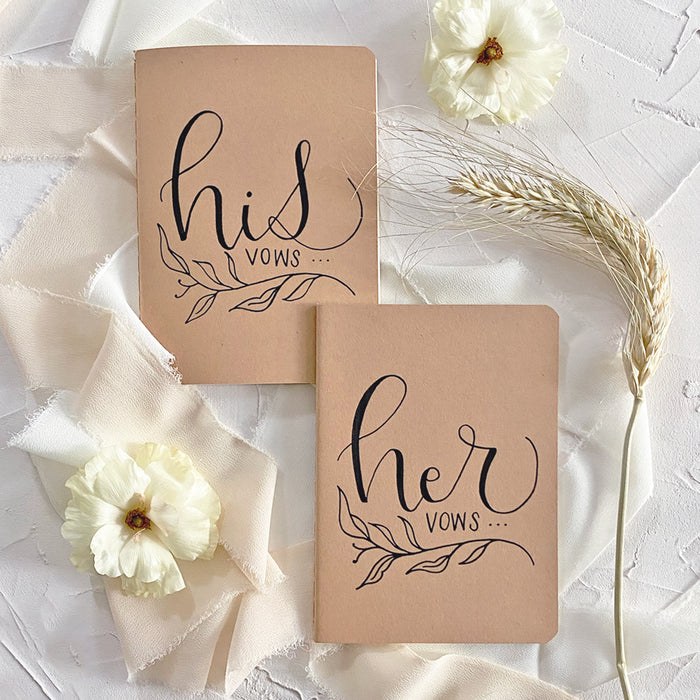 Vow Booklets