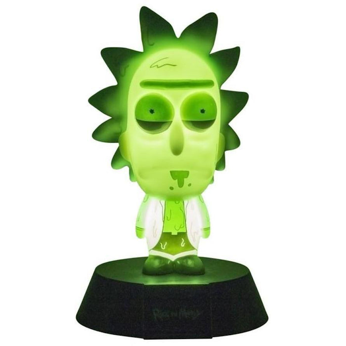 Rick and Morty - Toxic Rick - Tischlampe