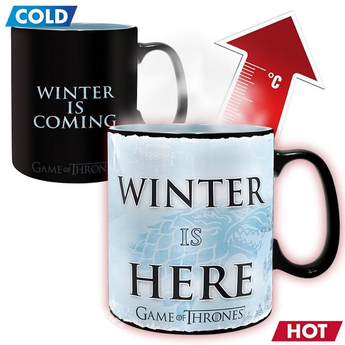 Game of Thrones - Winter is here - Farbwechsel-Tasse