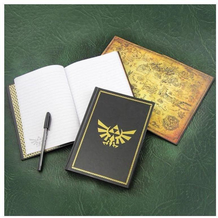 Zelda - Golden Triforce - Notizbuch