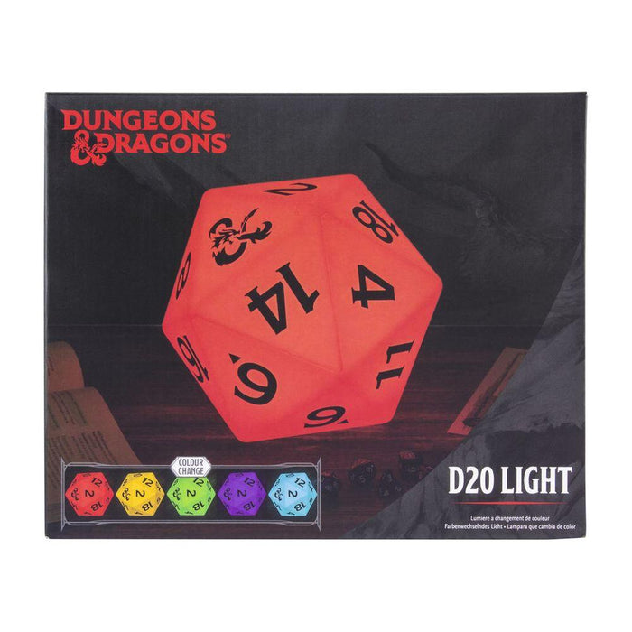 Dungeons and Dragons - W20 Würfel - Tischlampe