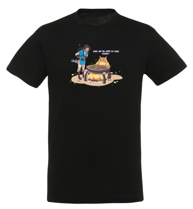Space Frogs – Loops – T-Shirt