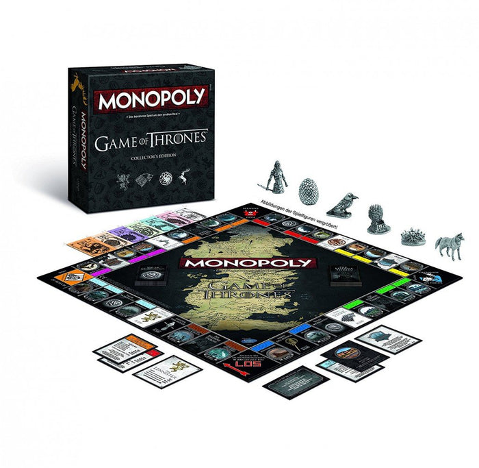 Game of Thrones - Monopoly - Brettspiel - Collector's Edition