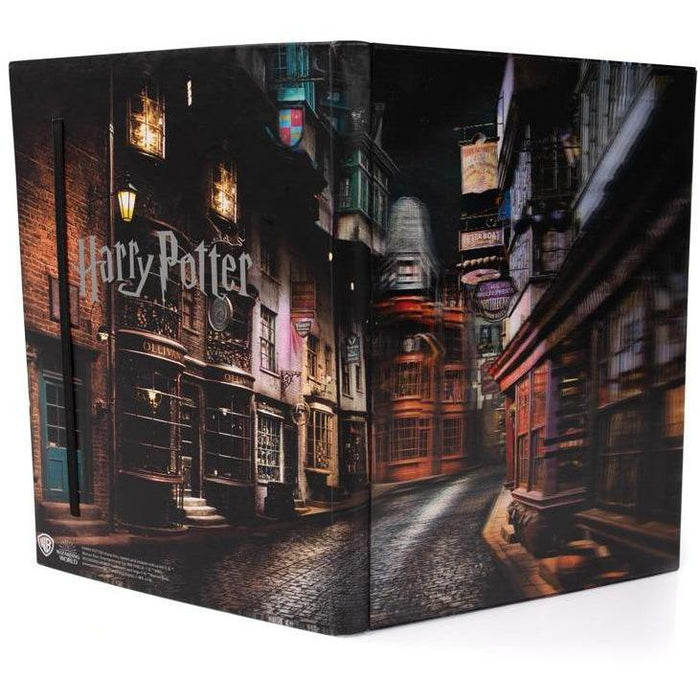 Harry Potter - Winkelgasse - 3D Notizbuch