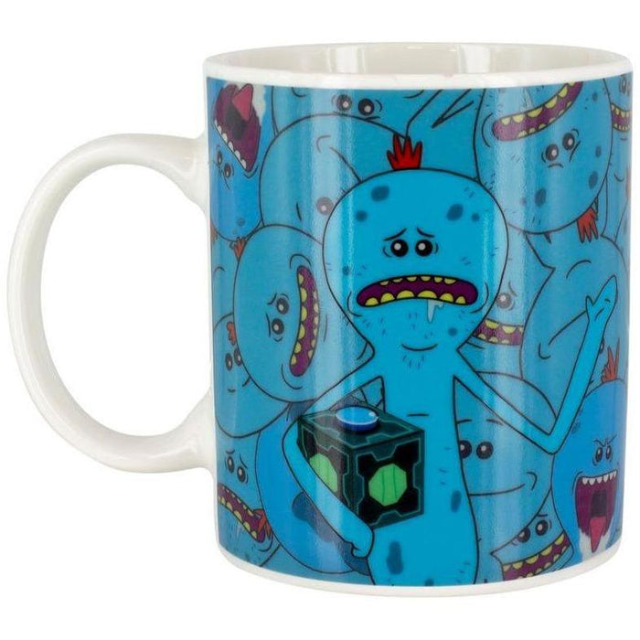 Rick and Morty - Mr. Meeseeks - Farbwechsel-Tasse