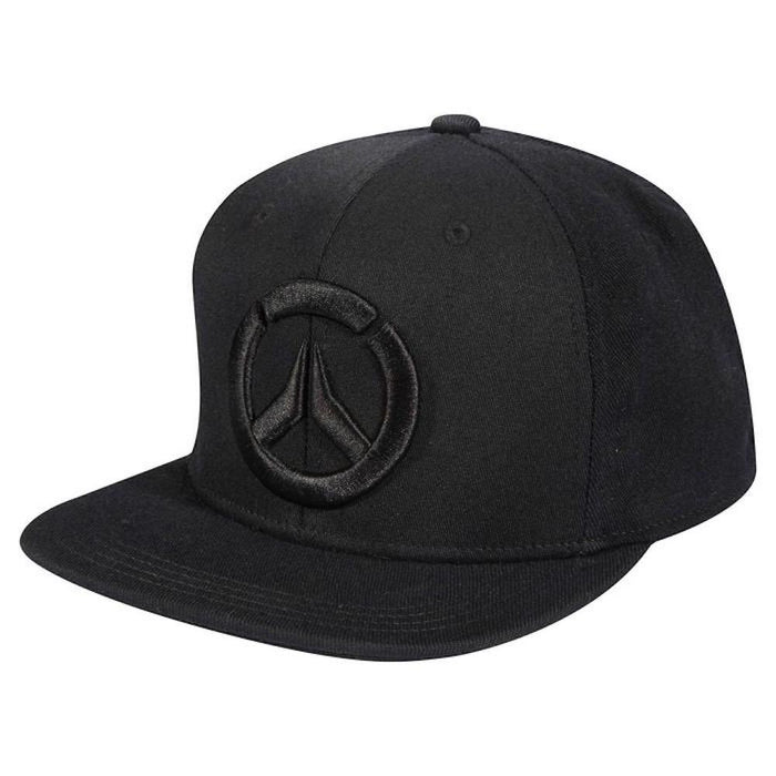 Overwatch - Black Pattern - Snapback Cap