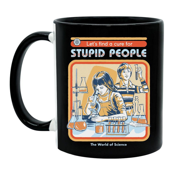Steven Rhodes - A Cure For Stupid People - Tasse