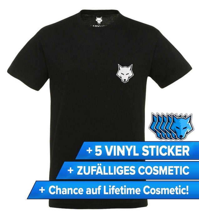 LabyMod - White Wolf - T-Shirt (gestickte Limited Edition)