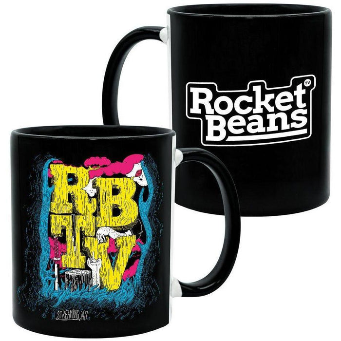 Rocket Beans TV - Wood - Tasse