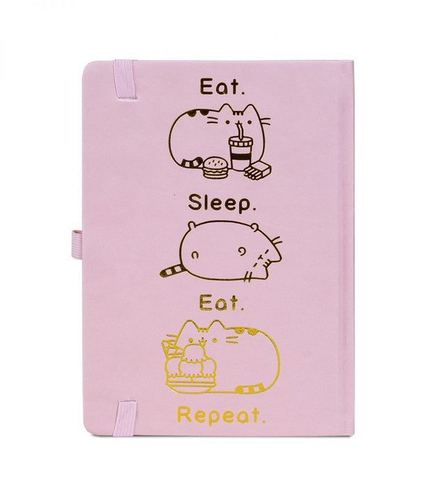 Pusheen - Eat Sleep Repeat - Notizbuch