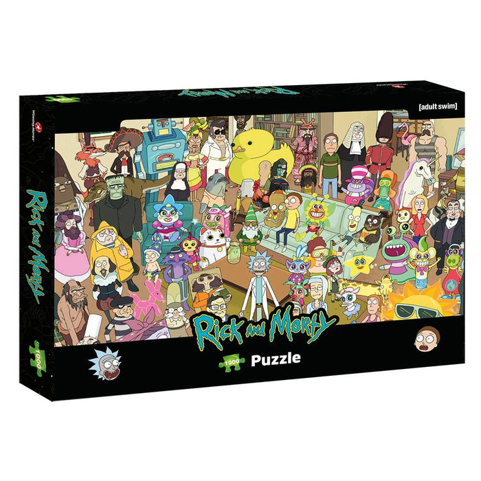 Rick and Morty - Total Rickall - 1000 Teile Puzzle
