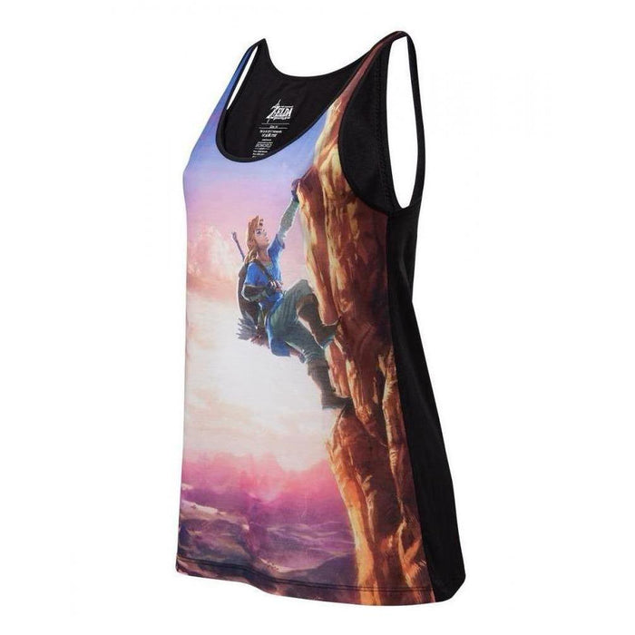 Zelda - All over Link Climbing - Tank Top