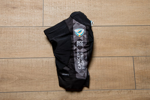 Women's DCC Black Cycling Shorts