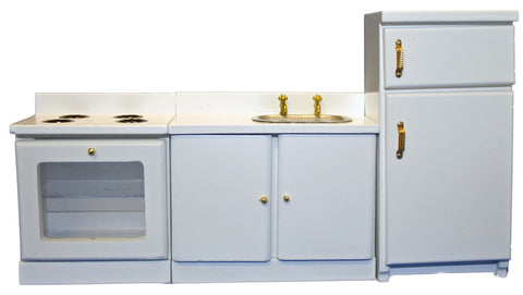 White Kitchen Set