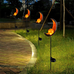 Lightscape - Solar Moon Garden Light