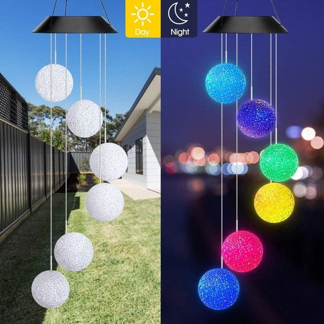 Windverse - Colour Changing Wind Chimes