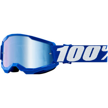 Youth Strata 2 Goggles - Blue - Blue Mirror