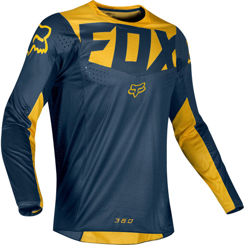 FOX 360 KILA NAVY/YELLOW JERSEY