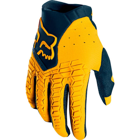 FOX PAWTECTOR NAVY/YELLOW GLOVE