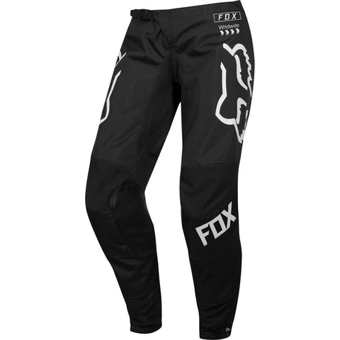 FOX WOMENS 180 MATA BLACK/WHITE PANT